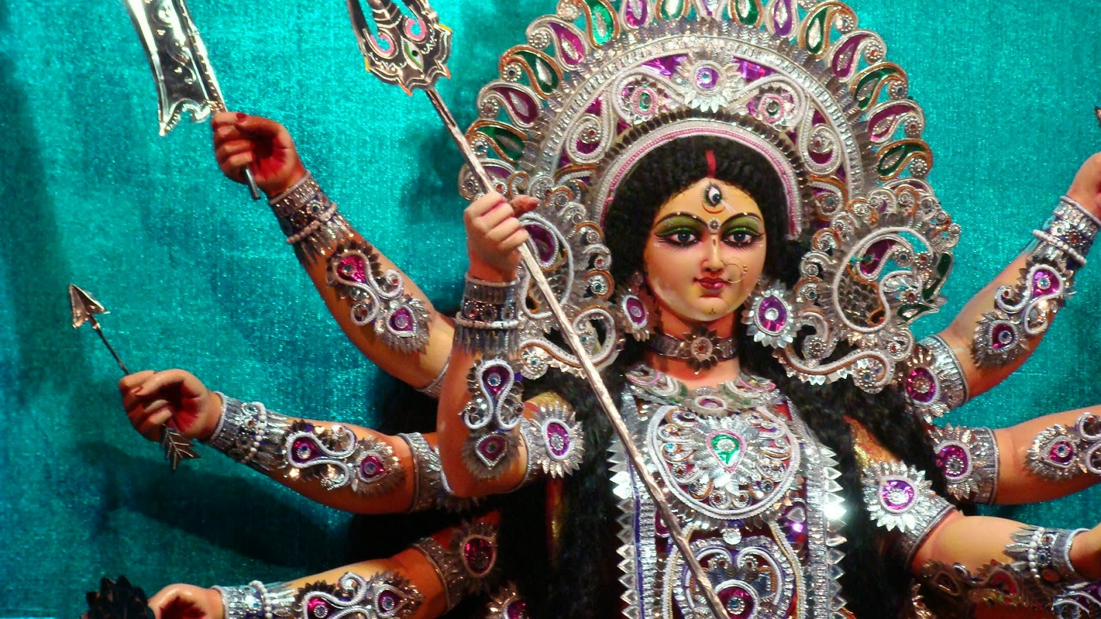 Goddess Maa Durga Devotional Wallpapers 99sharein 1600x900