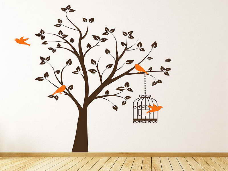 WallsTree With Cake Bird Wallpaper For Walls Bird Wallpaper For Walls 800x600