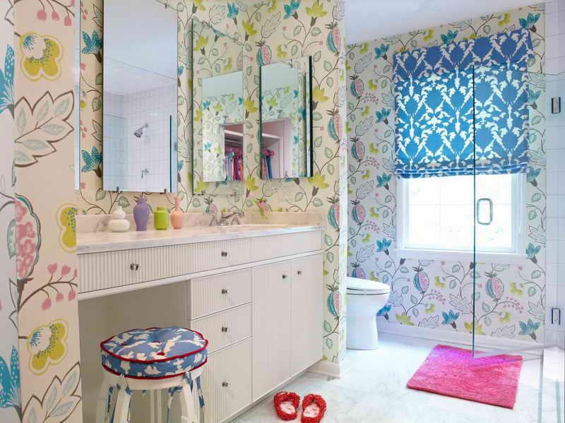 bathroom wallpaper trends 2015 bathroom wallpaper borders 800x599