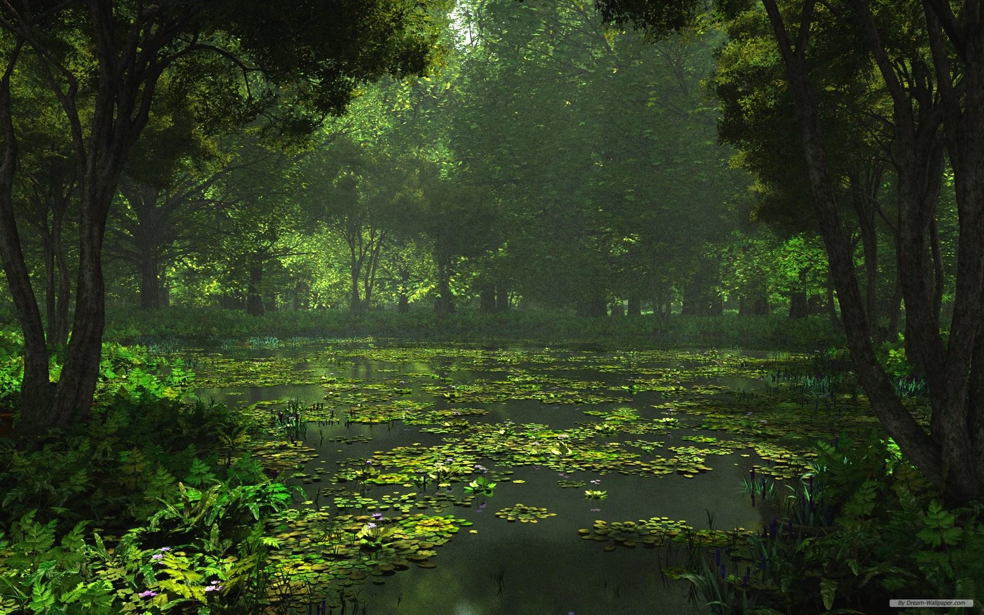 3D HD Landscape Desktop Wallpaper 1920x1200