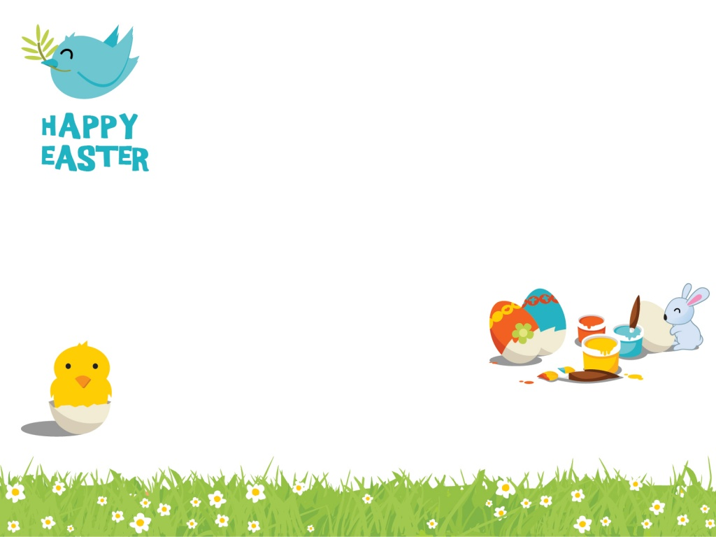 1024x768 Cartoon Easter desktop PC and Mac wallpaper 1024x768