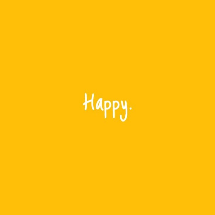happy yellow background quotes \u0026 sayings quotes sayings Happy 736x736