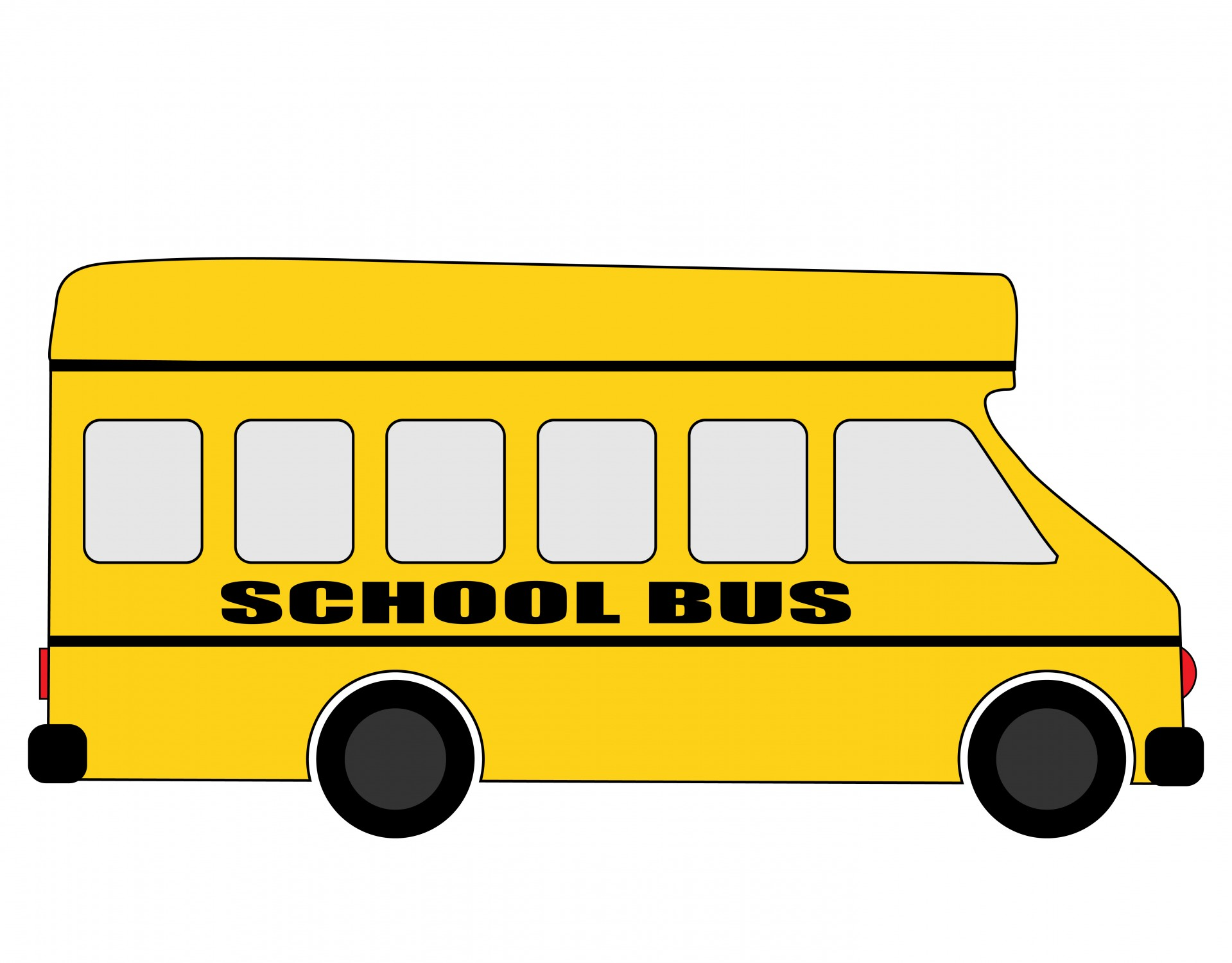 School Bus Clipart by Karen Arnold 1919x1500
