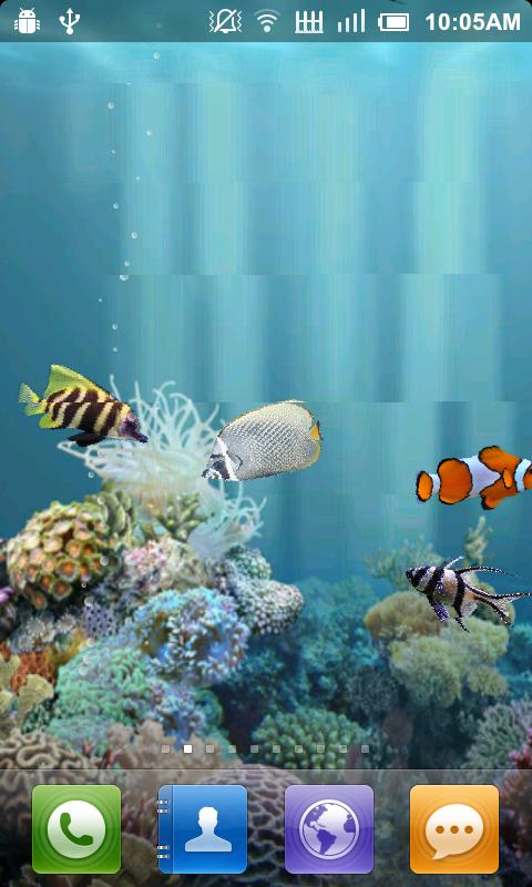 Aquarium Live Wallpaper   Android Apps on Google Play 480x800