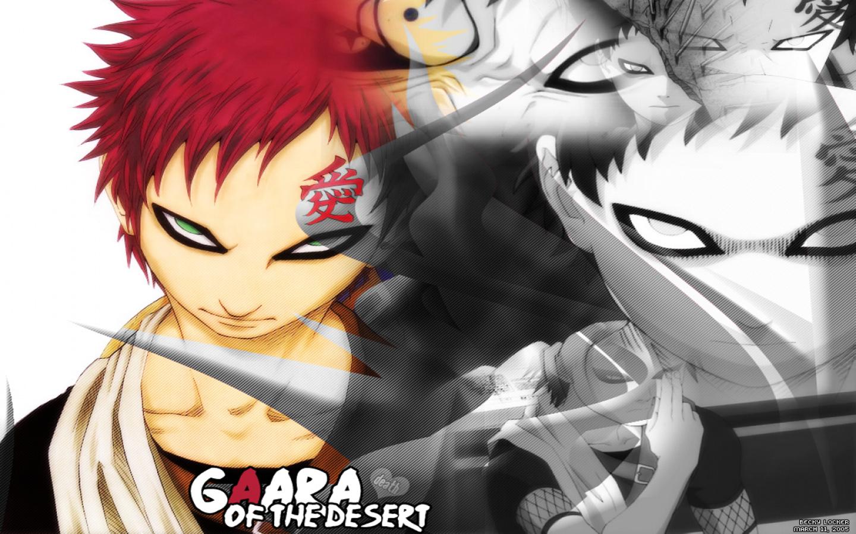 Gaara of the Desert Naruto Wallpaper 1440x900