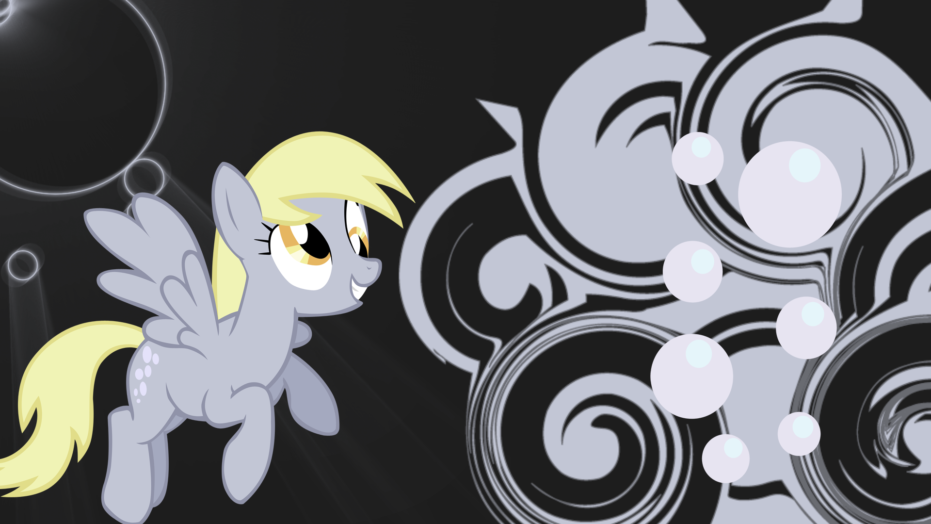 derpy hooves swirl and shine wallpaper by sk8pants d4lzxxd 1920x1080