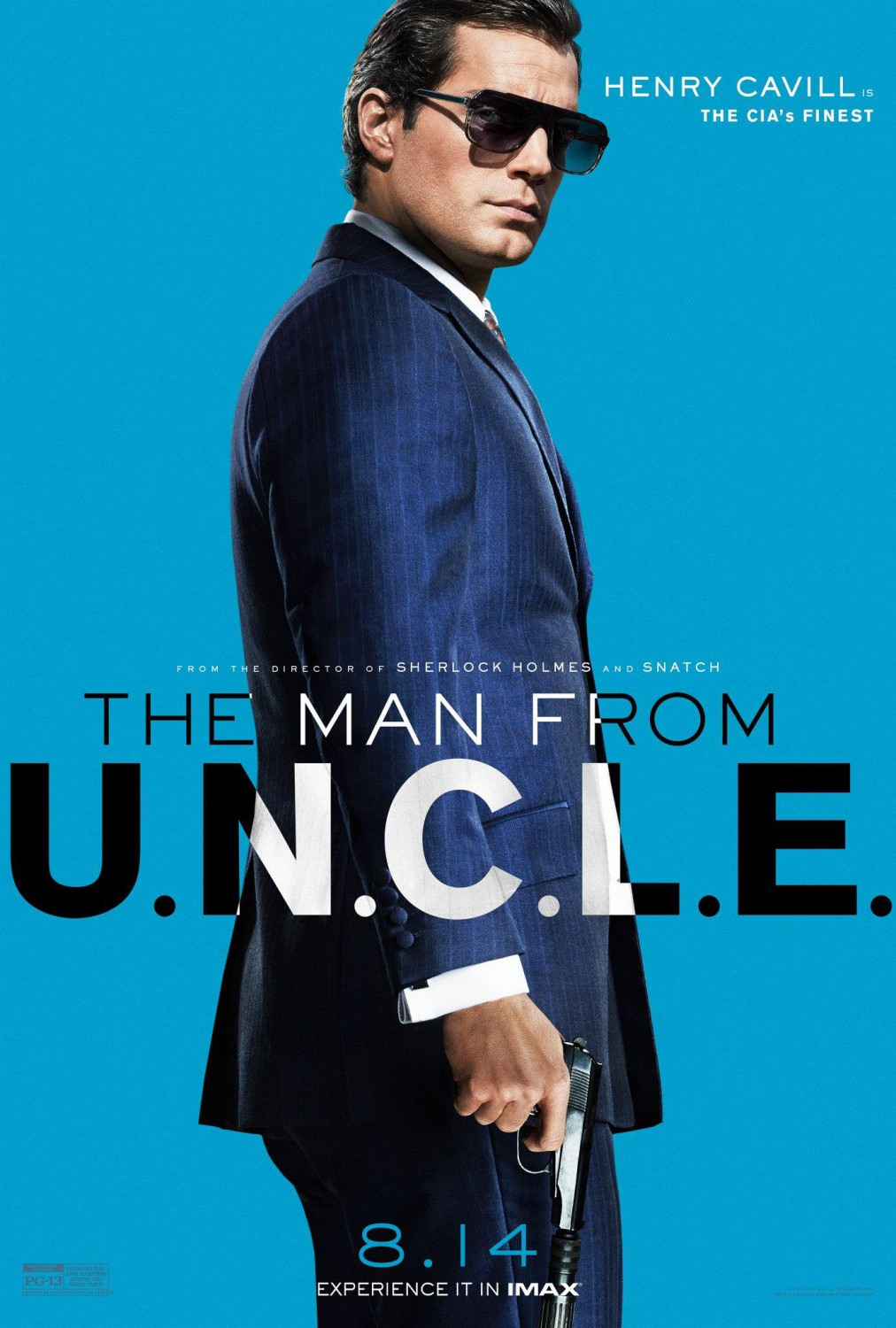 Double O Section First Man From UNCLE Character Poster 1012x1500