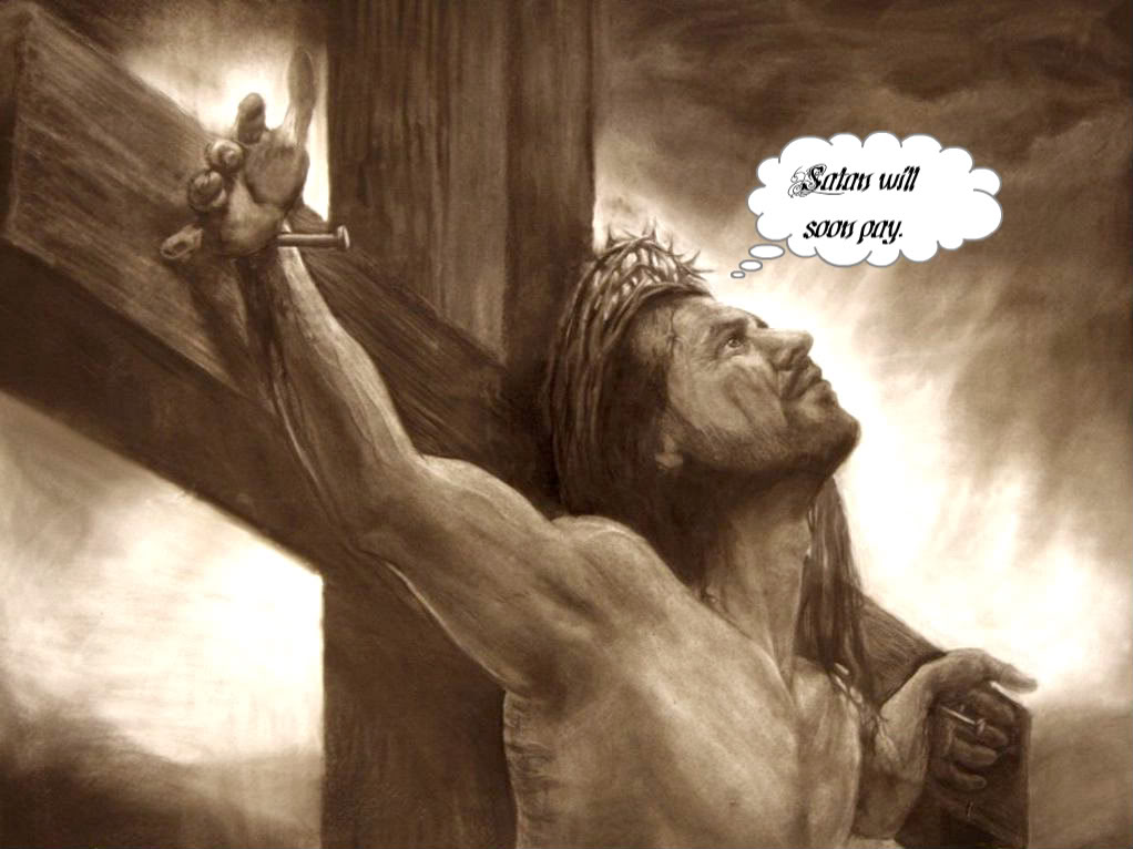 jesus crucifixion wallpaper 1051 1jpg 1022x766