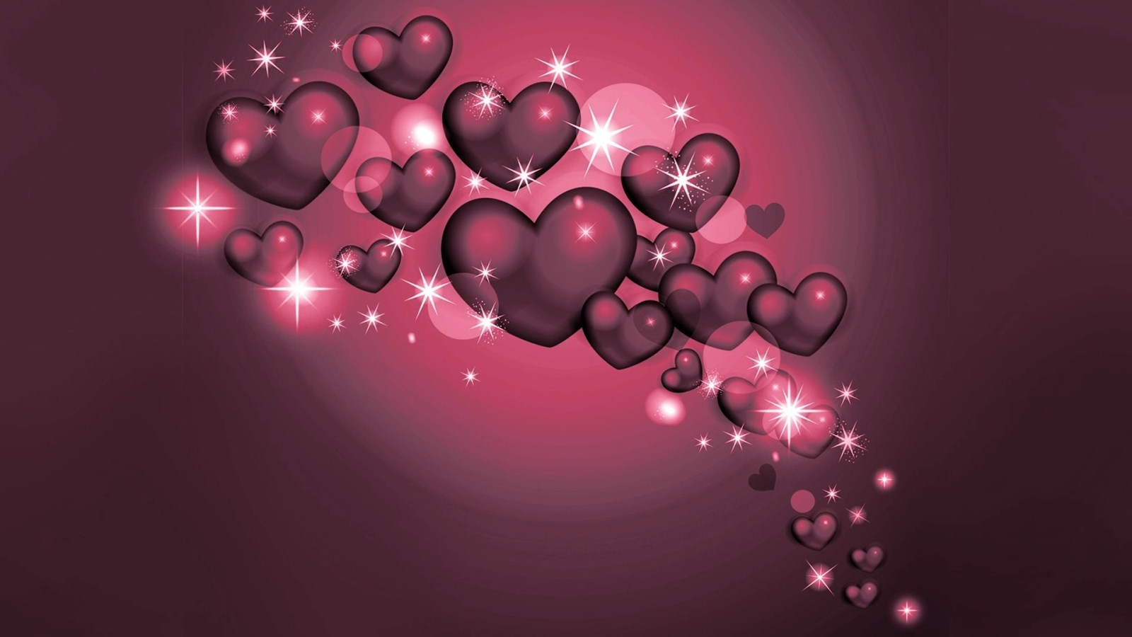 love heart 3d hd wallpapers 1080p download 1600x900