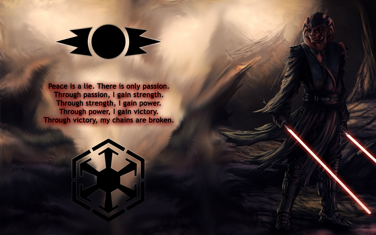 you are viewing star wars sith hd wallpaper color palette tags star 1280x800