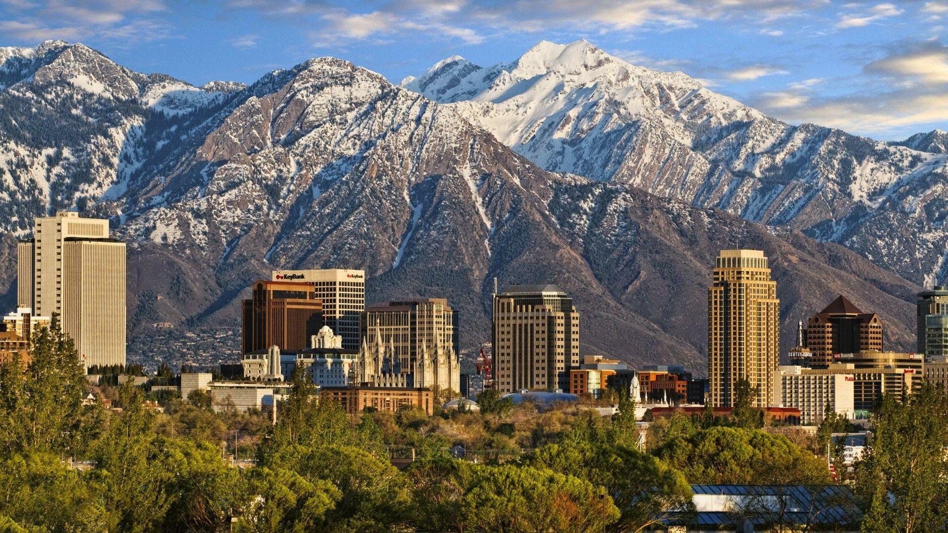 Salt Lake City Wallpapers   Top Salt Lake City Backgrounds 1920x1080