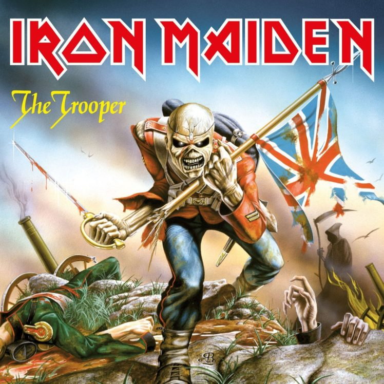 iron Maiden Heavy Metal Power Artwork Dark Evil Eddie 748x748