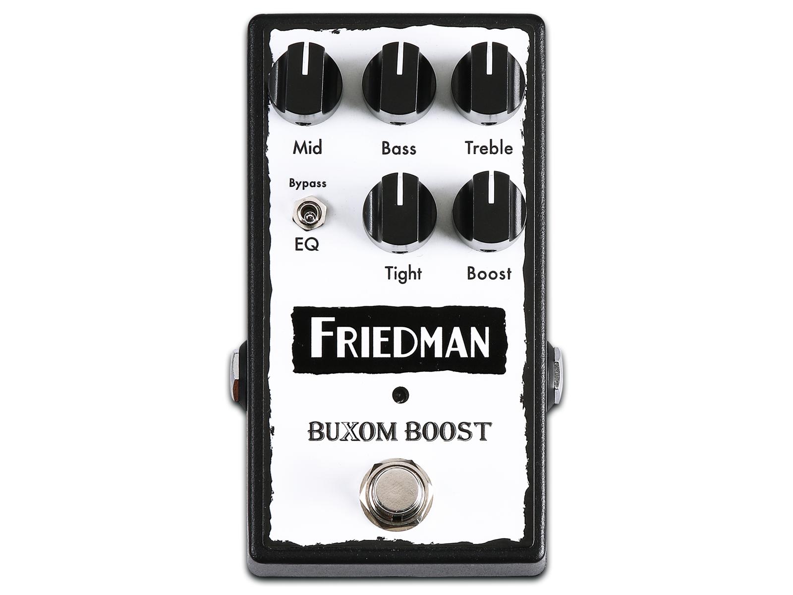 Friedman Amplification   BUXOM BOOST PEDAL 1600x1200