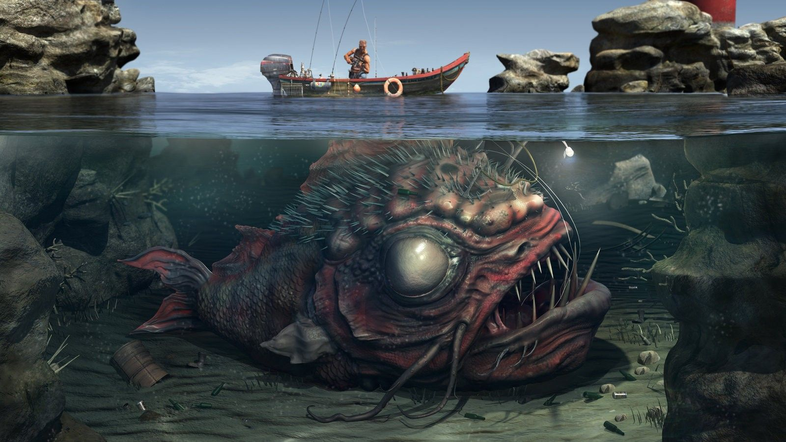 Really Scary Really Scary Fish Wallpapers Really Scary Fish 1600x900