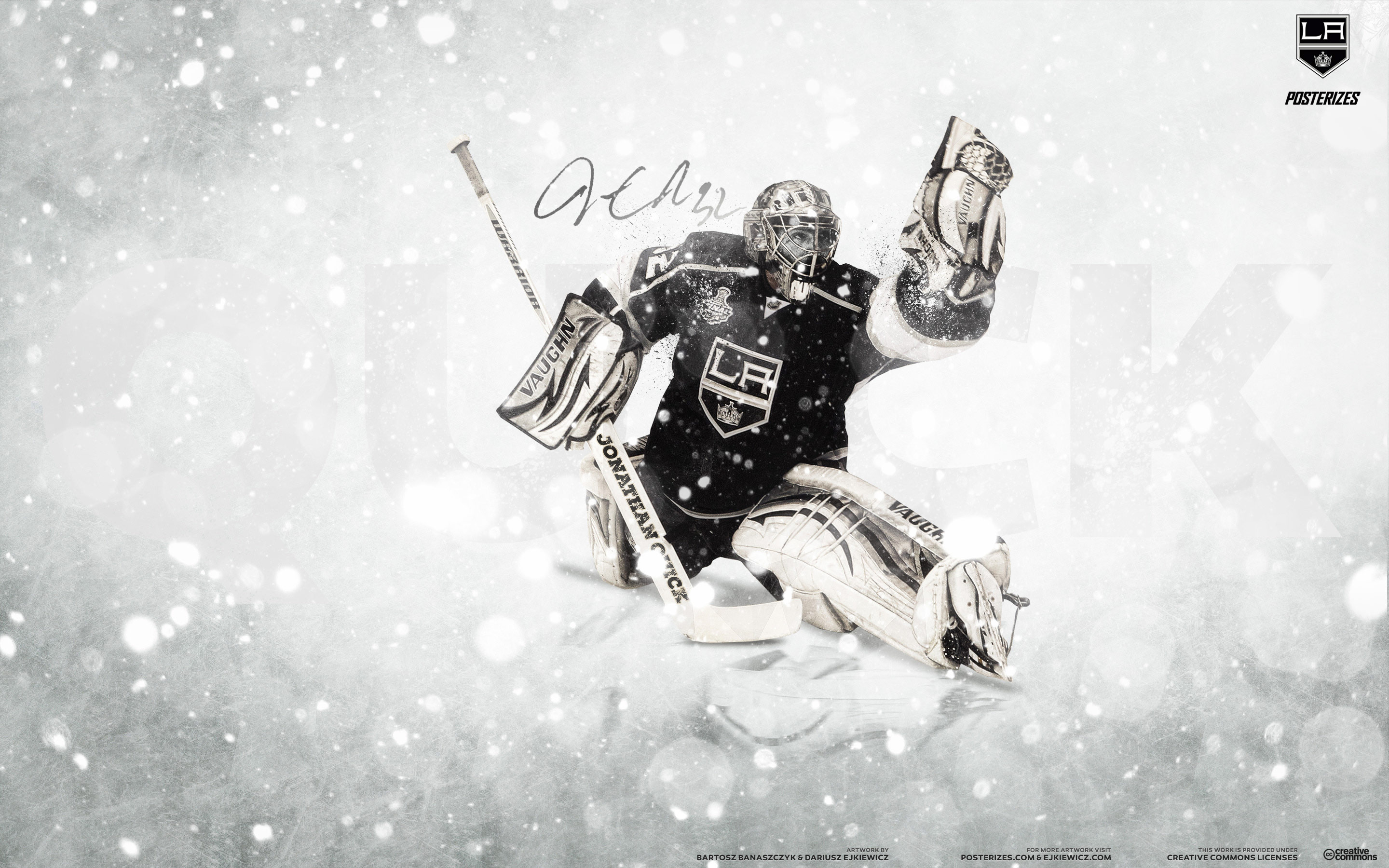 Free Download Nhl Wallpapers Jonathan Quick Los Angeles Kings 2014
