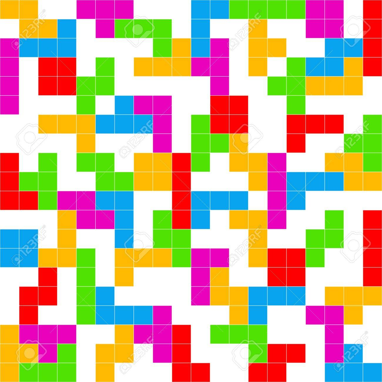 Tetris Game White Background Stock Photo Picture And Royalty 1300x1300