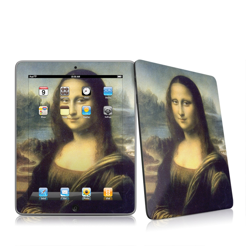 Apple iPad iPad 2010 1st Gen Mona Lisa Apple iPad 1st Gen Skin 800x800