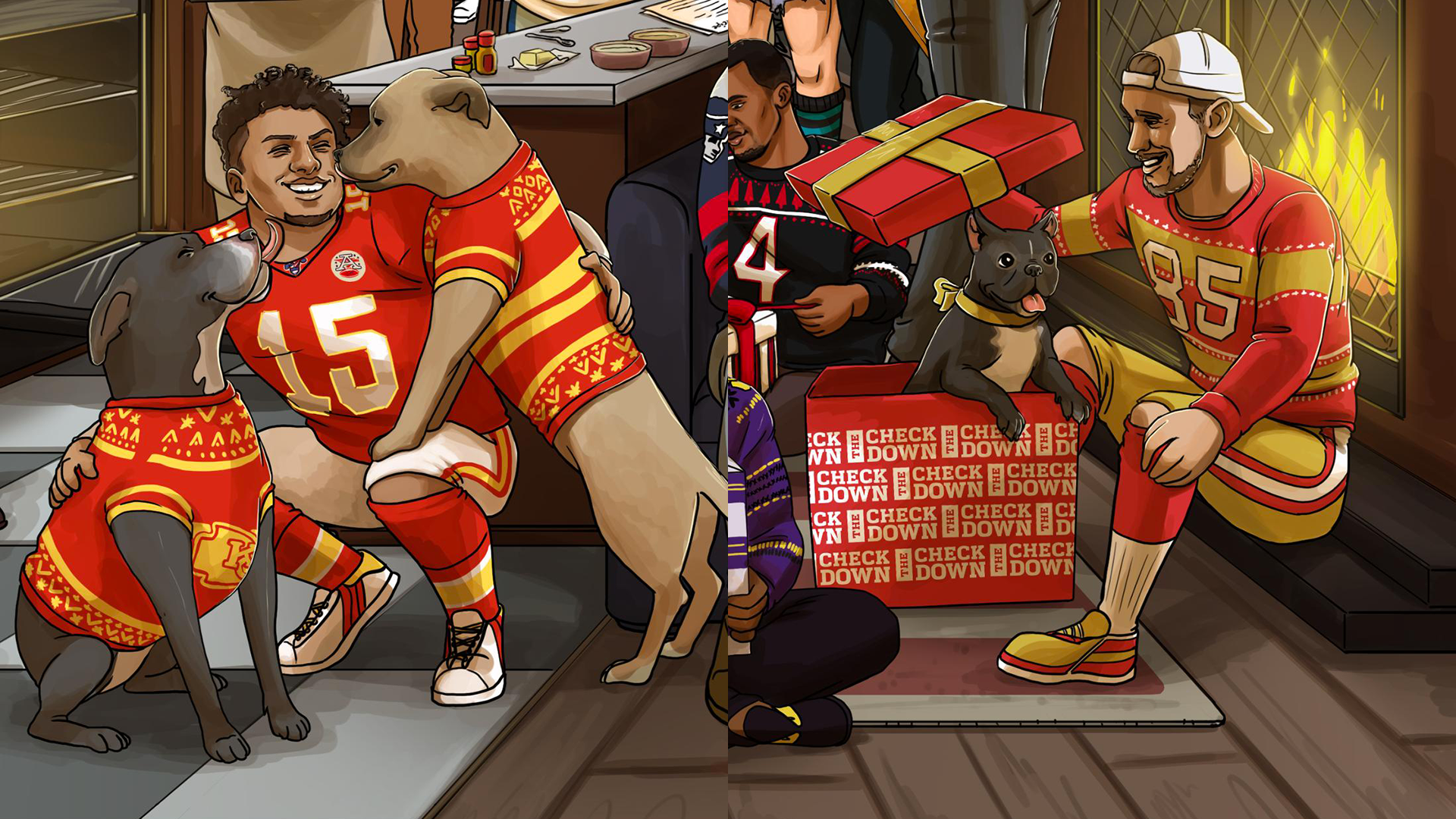 Did this NFL Christmas graphic predict the 49ers and Chiefs would 1920x1080