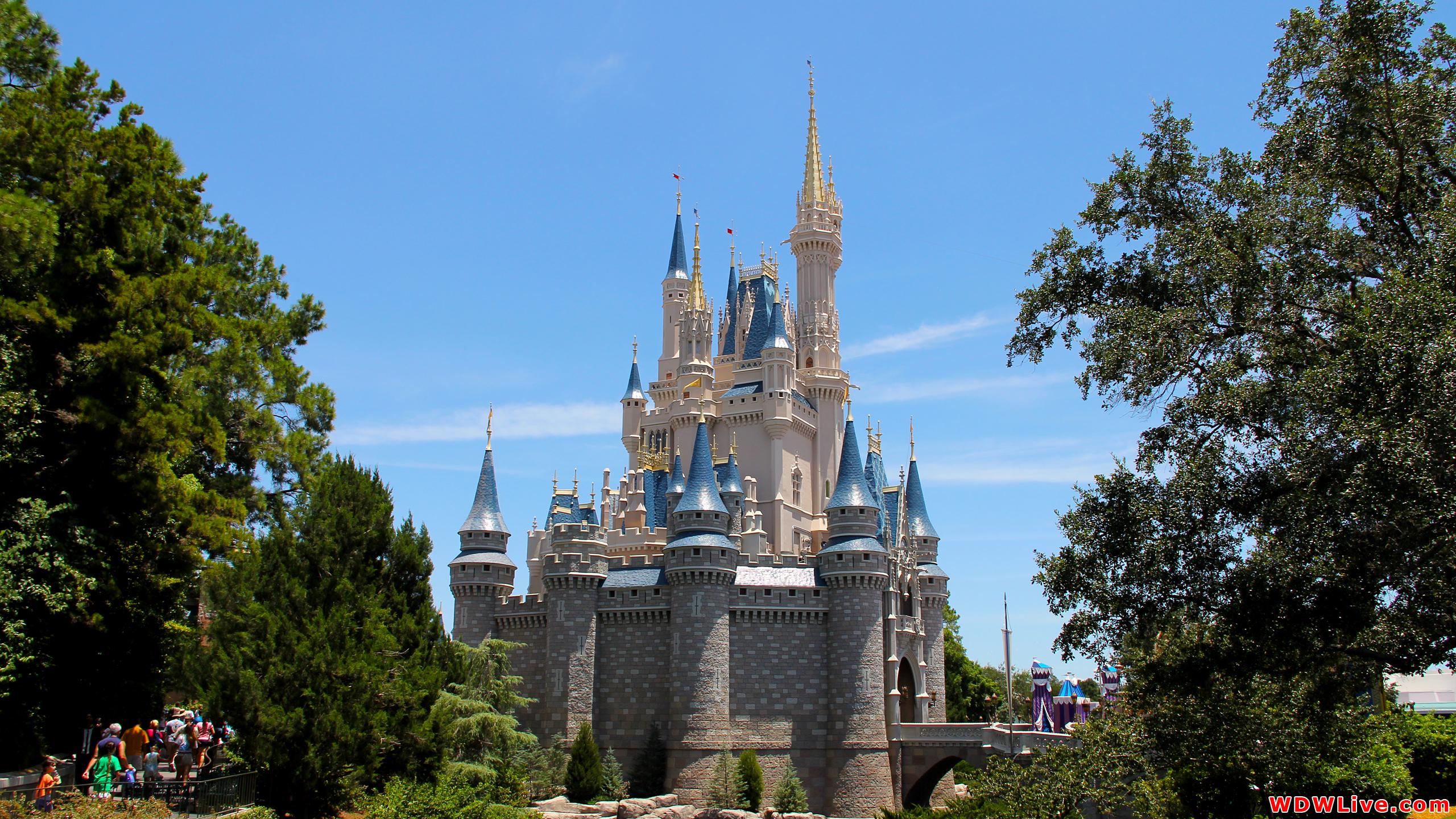 Magic Kingdom Castle Wallpaper Cinderella castle desktop 2560x1440