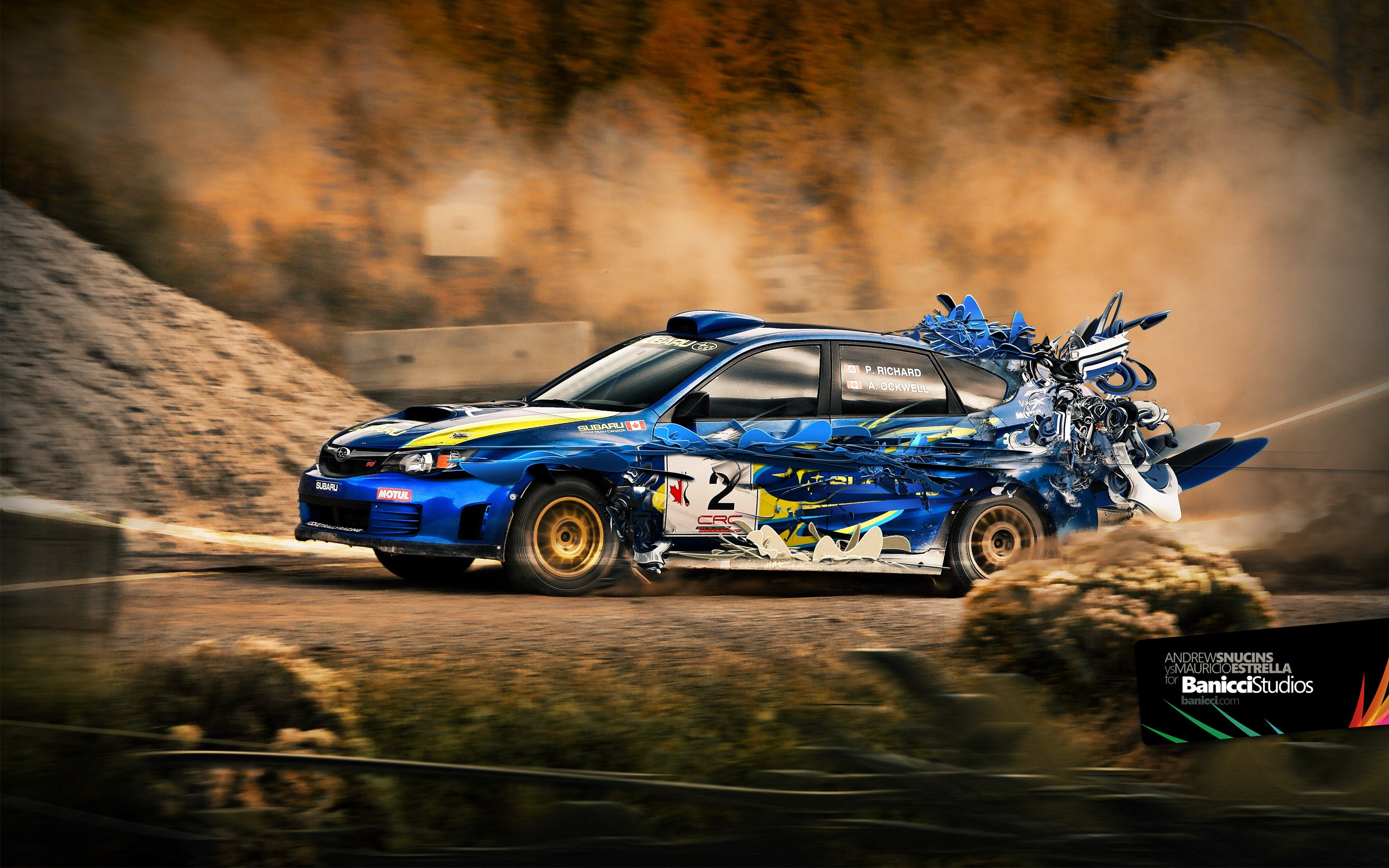 2560x1600 Subaru impreza wrx transformation desktop wallpapers and 2560x1600