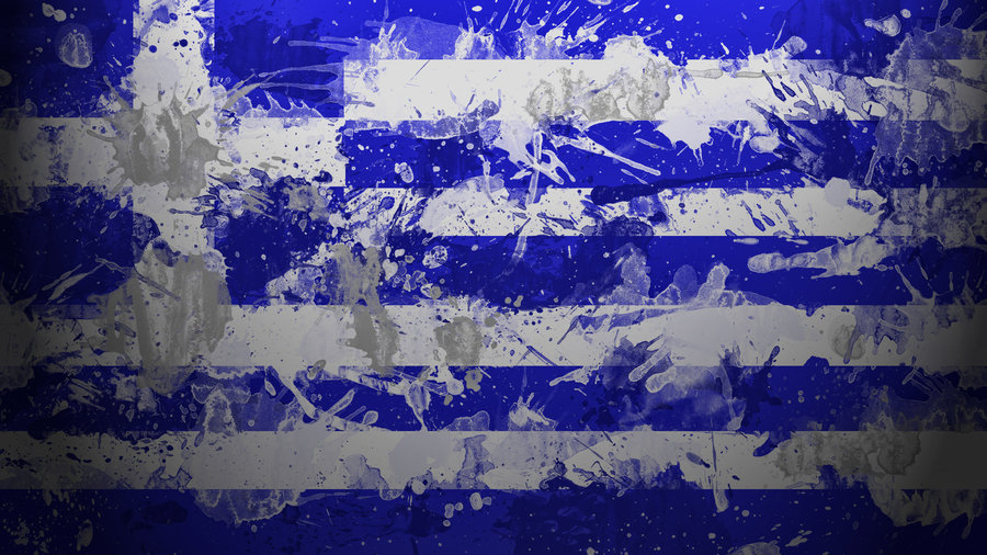 Greek Flag Wallpaper by GaryckArntzen 900x506