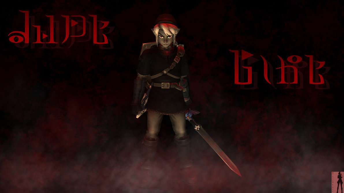 Dark Link Wallpaper by RealTRgamer 1191x670
