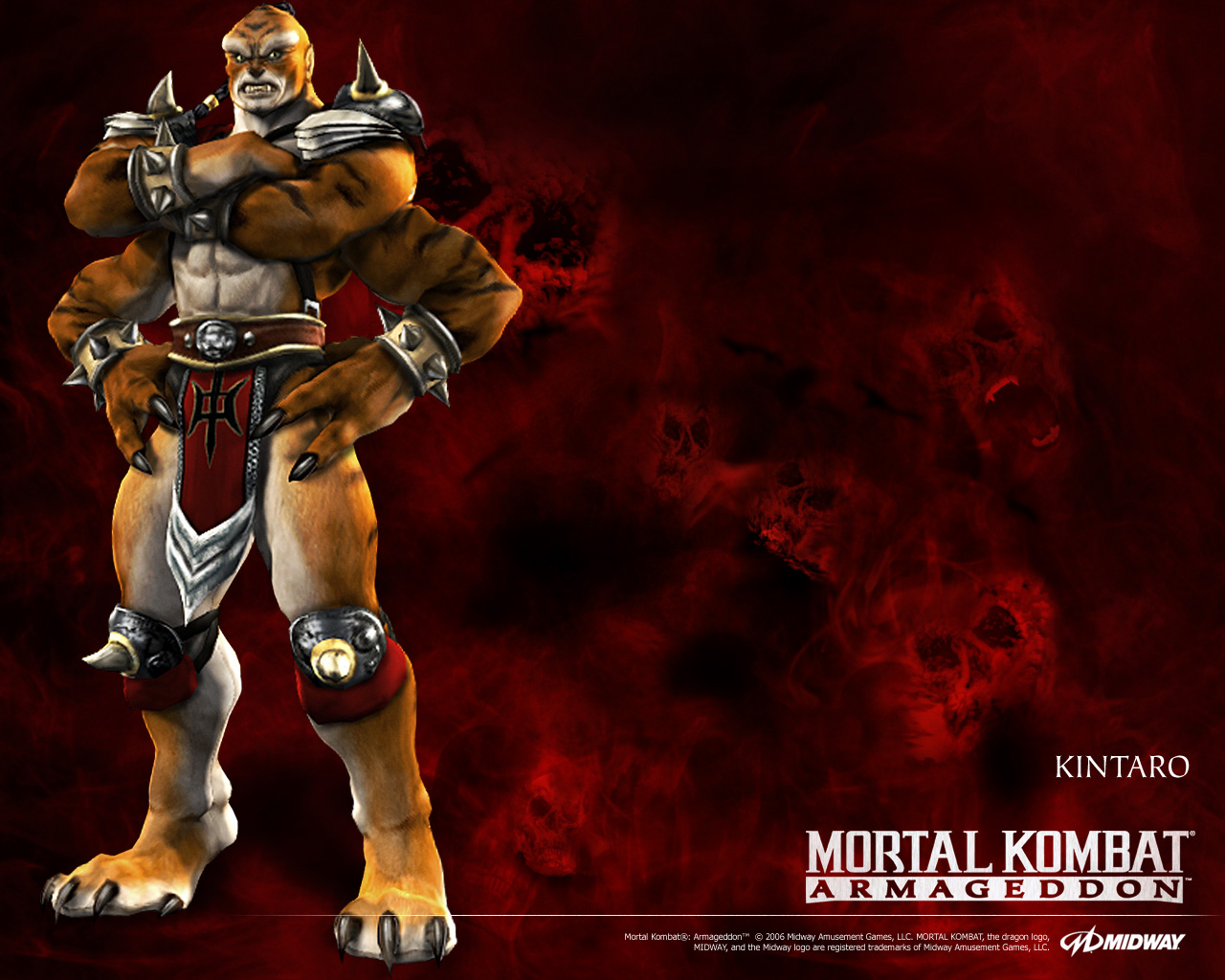 Here we have Mortal Kombat: Armageddon wallpaper, created by either me ...