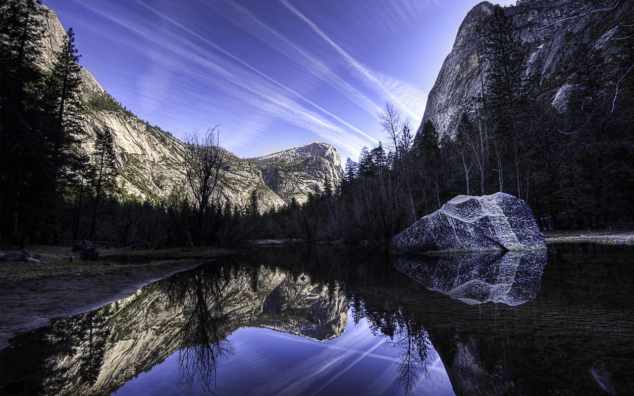 Free Download Yosemite Wallpaper Apple Pictures Lake In