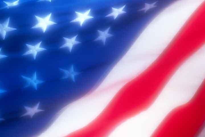 Click for larger Patriotic Desktop Wallpaper Background American Flag 720x480