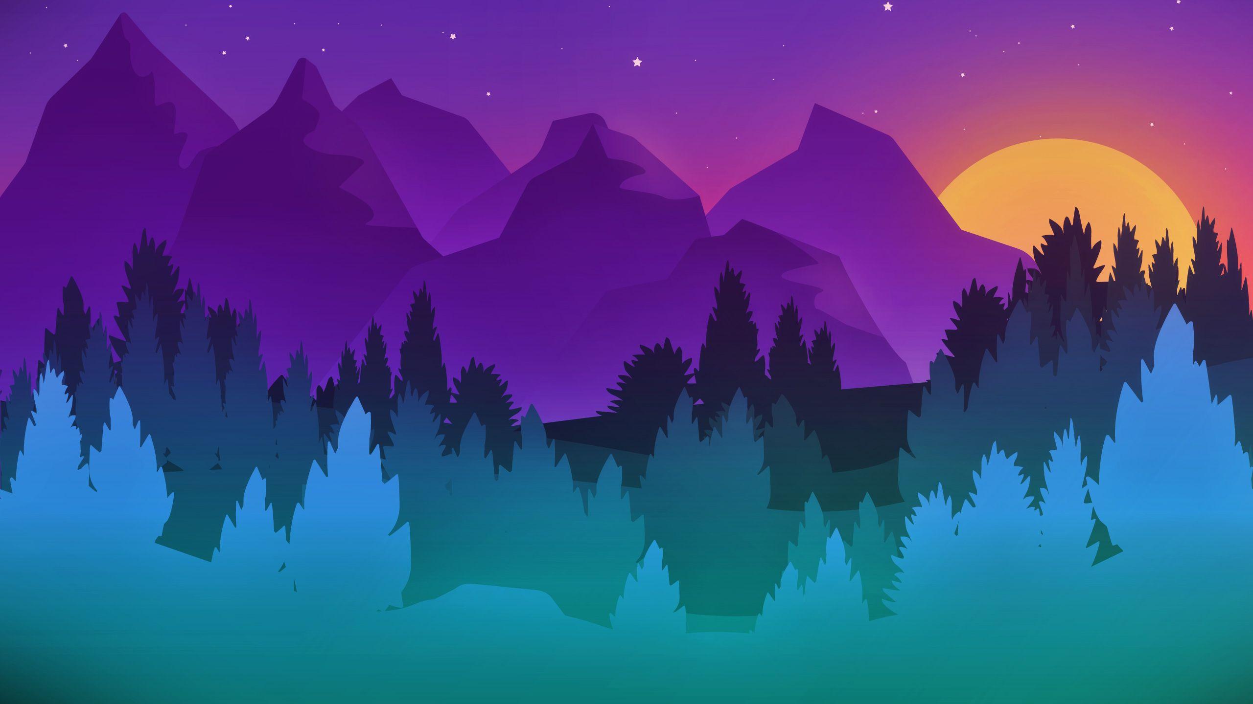 Minimalist Purple Wallpapers   Top Minimalist Purple 2560x1440