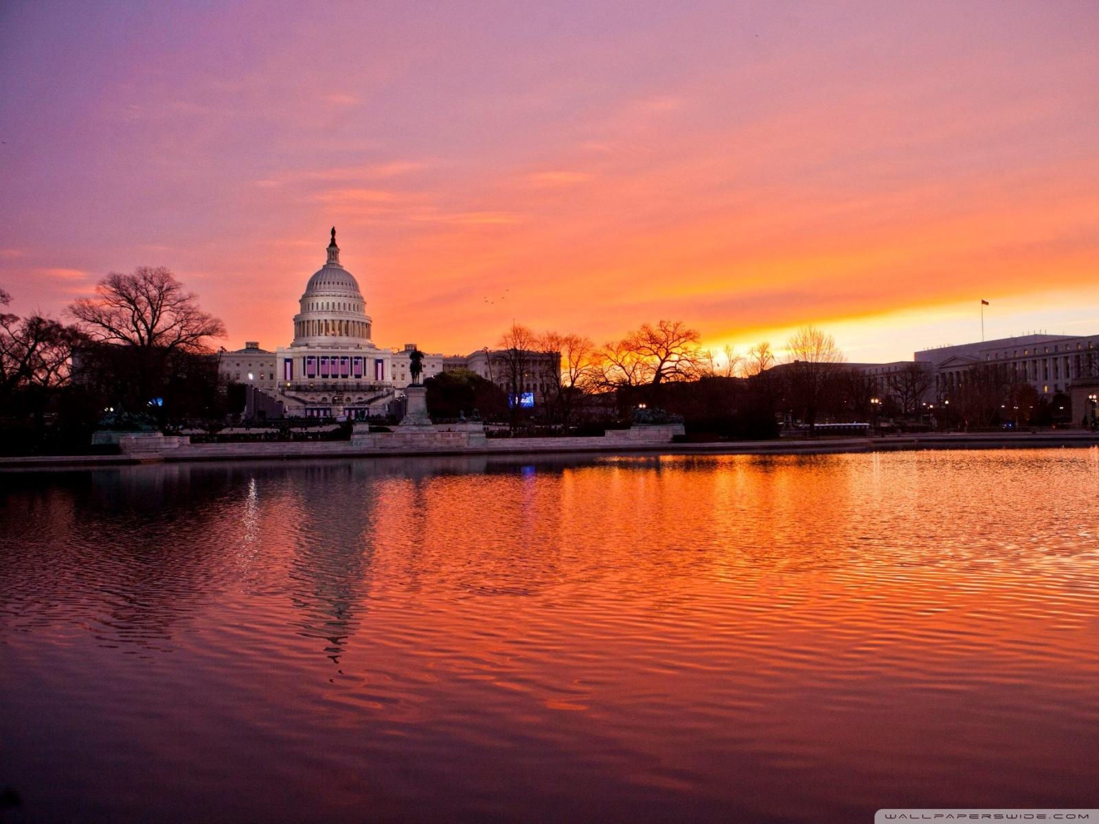 United States Capitol Washington DC 4K HD Desktop Wallpaper 1600x1200