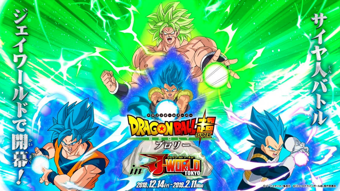 22 Dragon Ball Super Broly Movie Wallpapers On