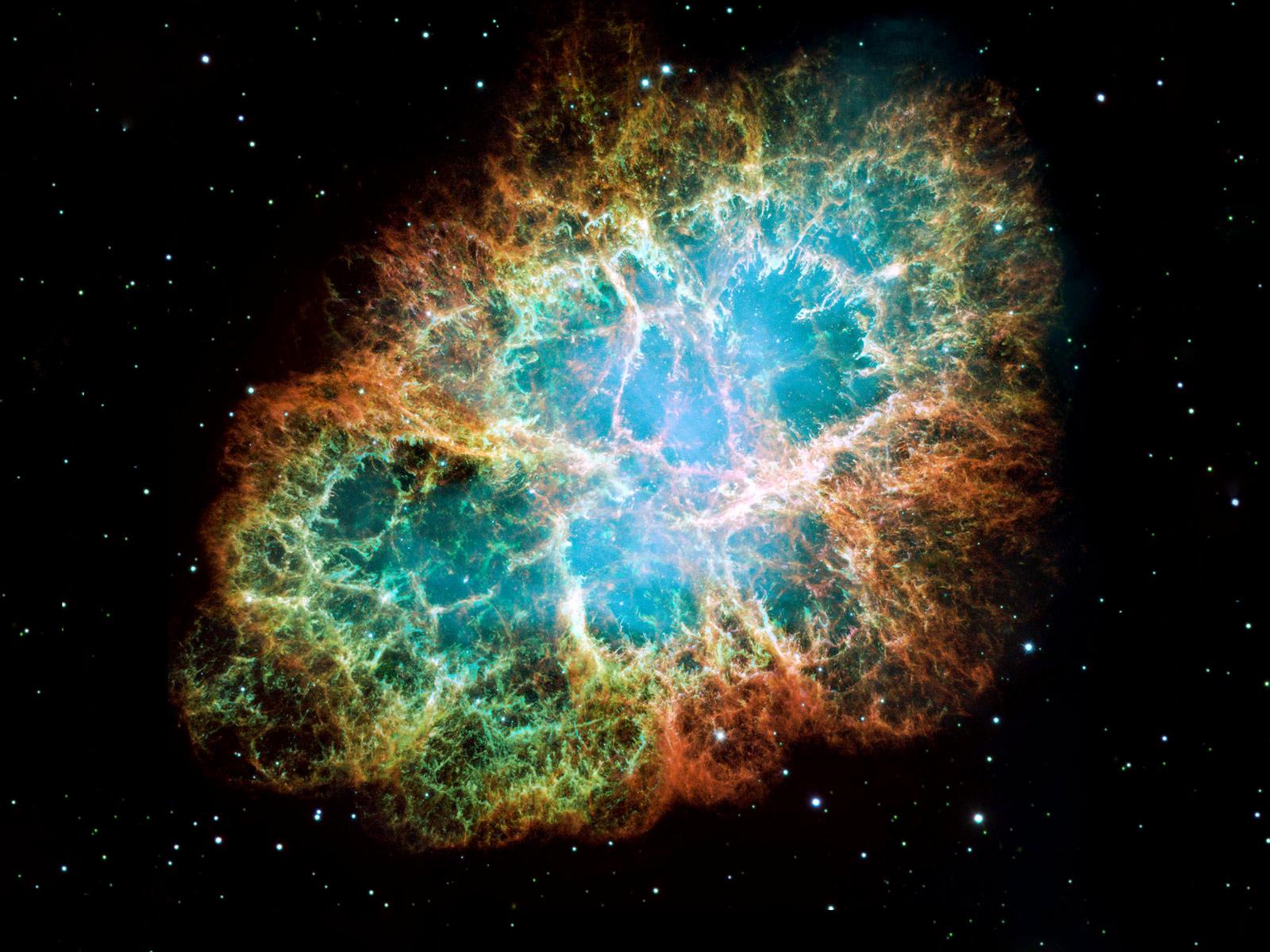 Hubble Space Telescope Crab Bebula 1600x1200