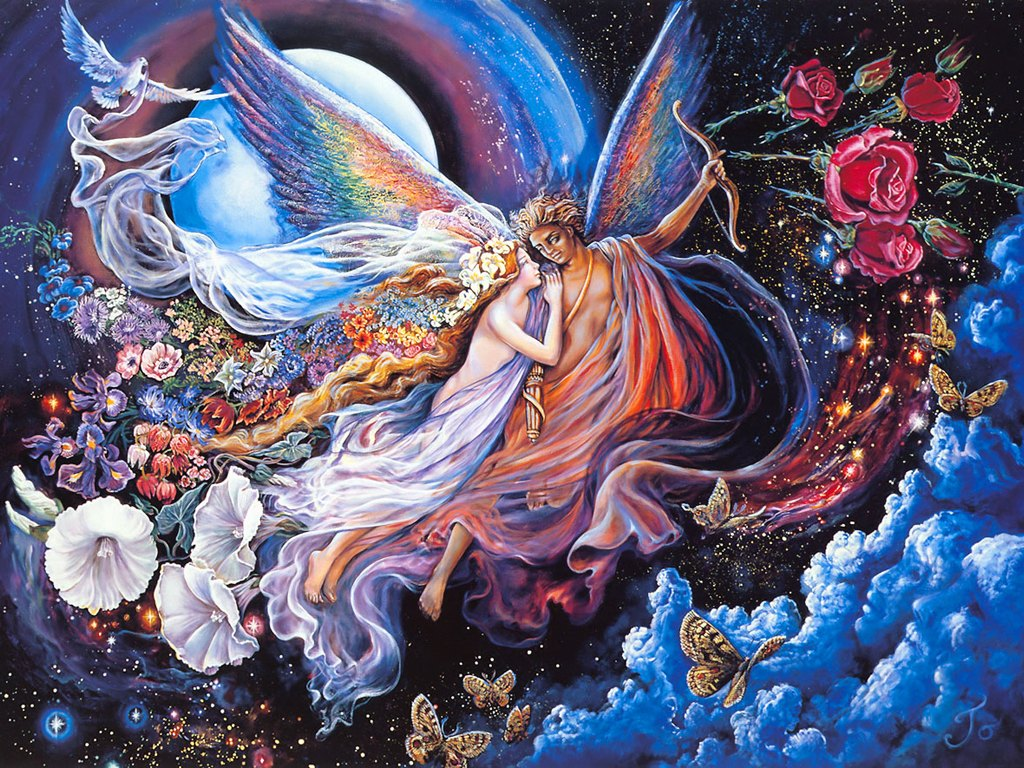 FANTASY ART] [PAINTING] Josephine Wall   ART FOR YOUR WALLPAPER 1024x768