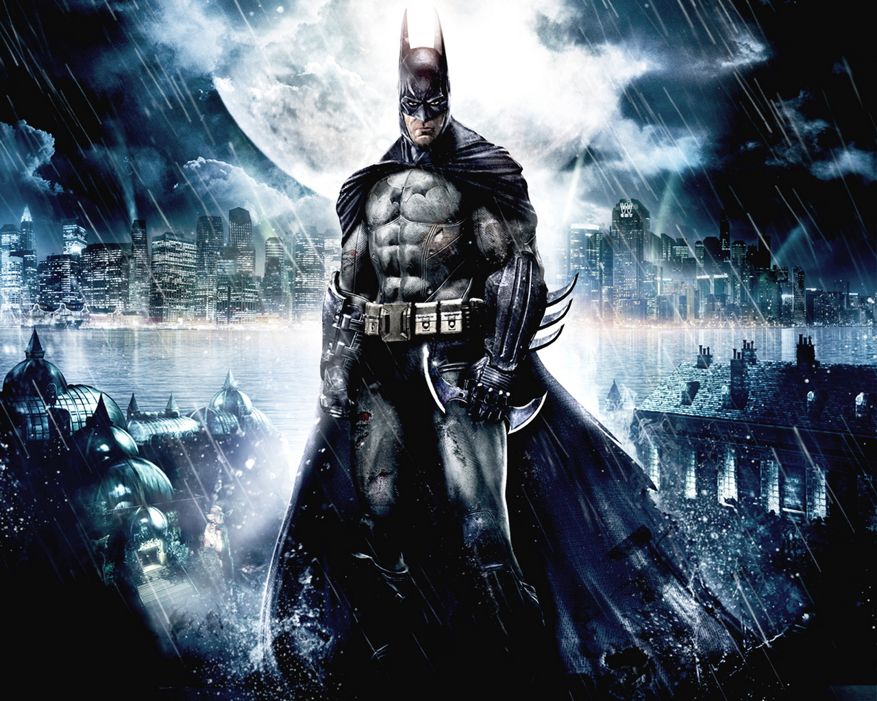 Batman Arkham Asylum Wallpaper 1 Batman Arkham Asylum Wallpaper 1jpg 1280x1024