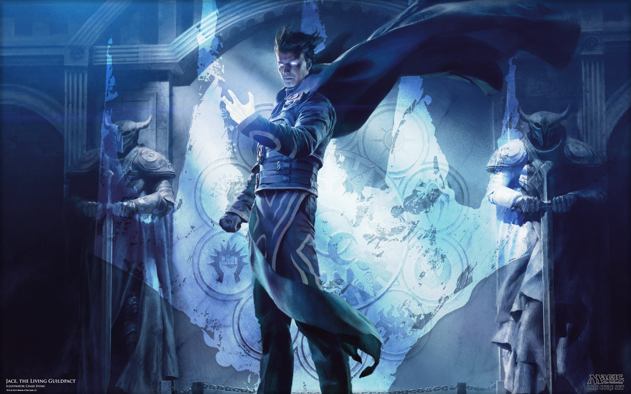 Jace the Living Guildpact MAGIC THE GATHERING 2560x1600