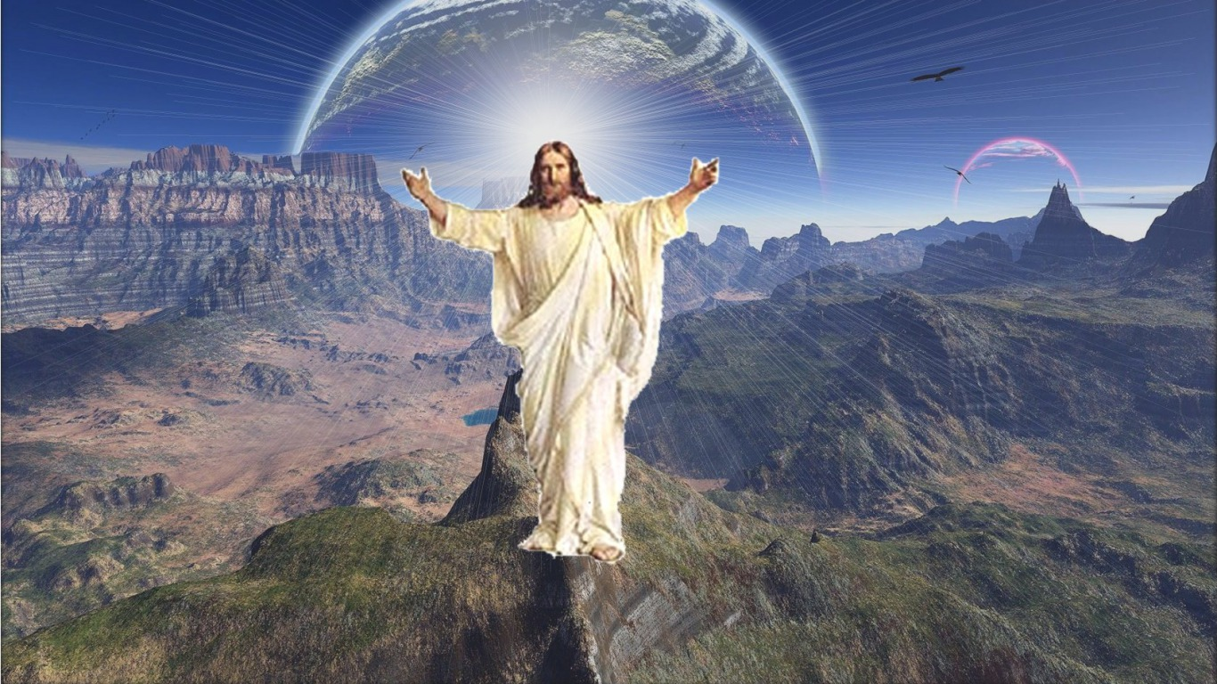 download jesus wallpaper [1366x768] for your Desktop 1366x768