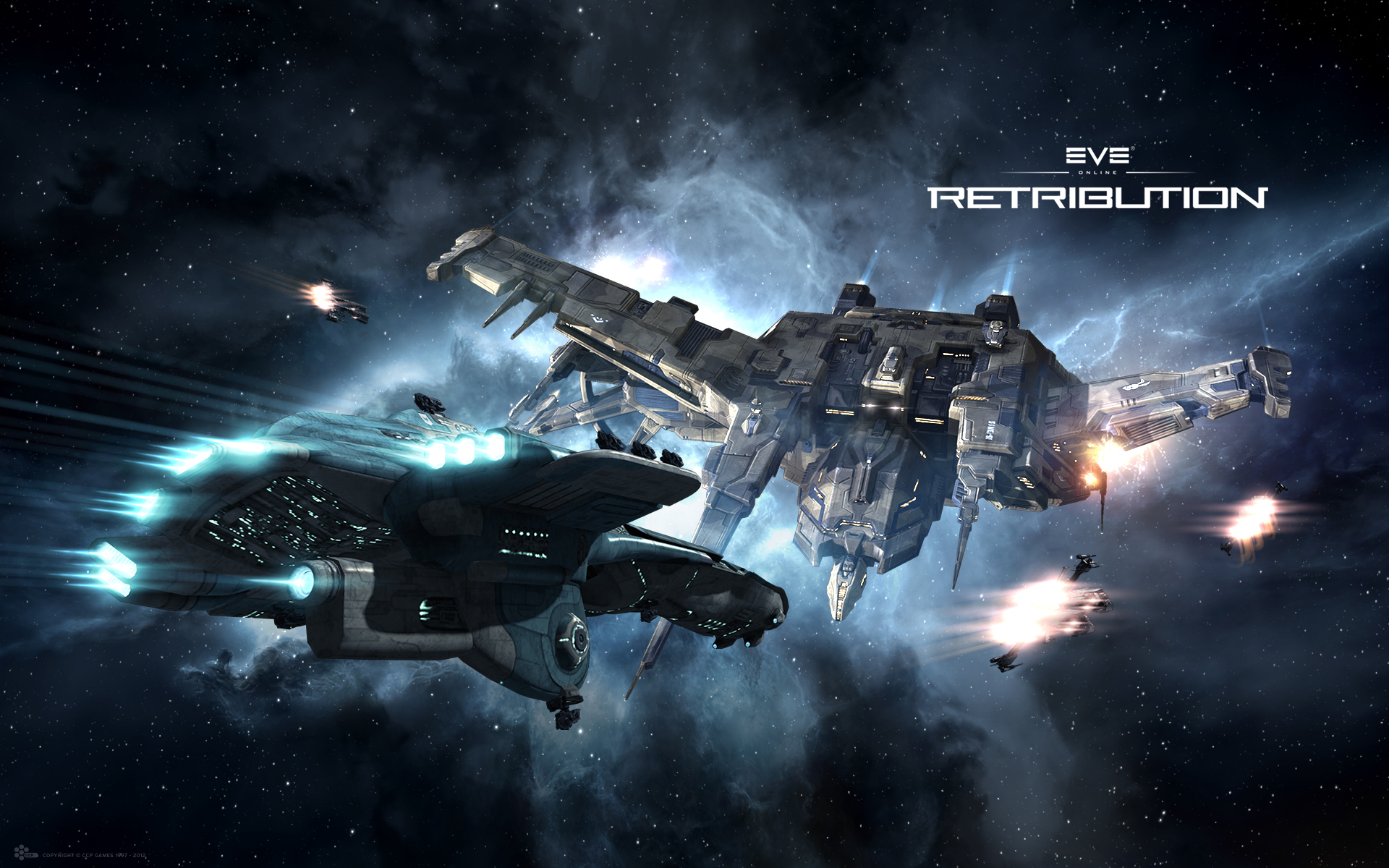 Retribution   Kopfgeldjagd   Wallpapers   EVE Online 1920x1200