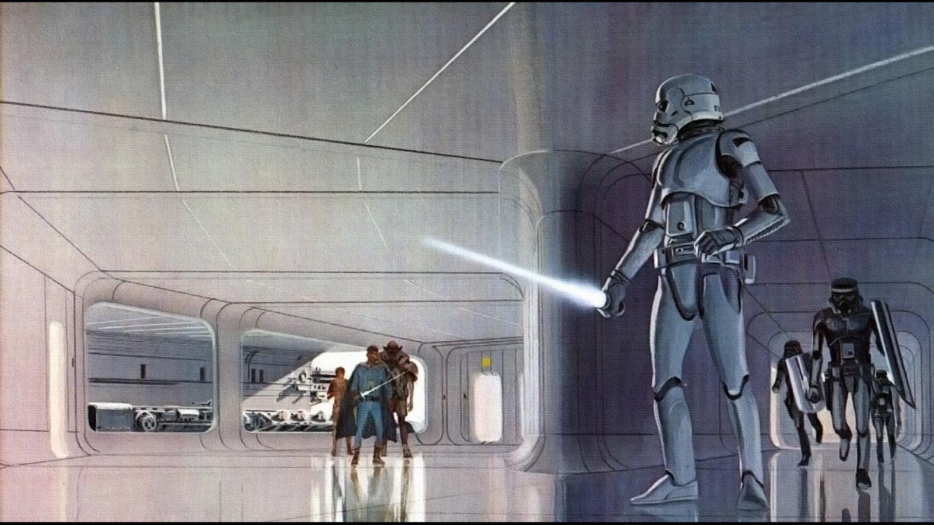 48 Star Wars Concept Art Wallpaper On Wallpapersafari