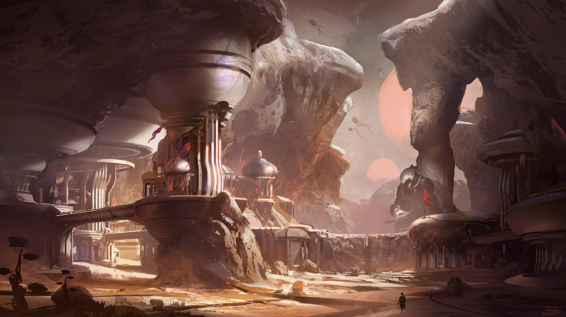 Halo 5 First Concept Art New Game Engine Details Revealed 1920x1075