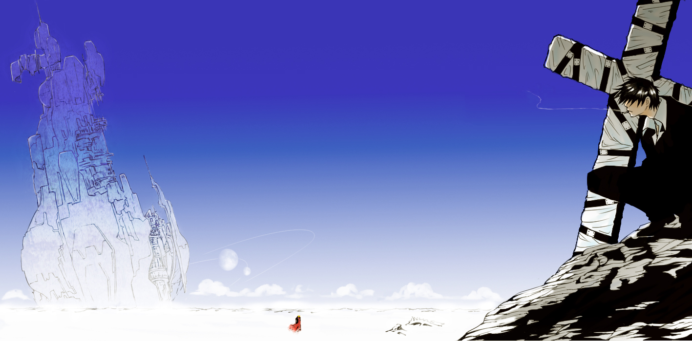 download Trigun Wolfwood Your daily Anime Wallpaper and Fan 1417x700