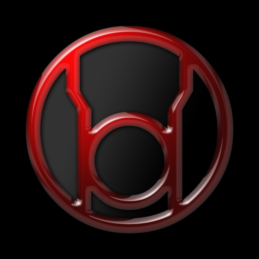 Red Lantern Corps Insignia by SUPERMAN3D 894x894