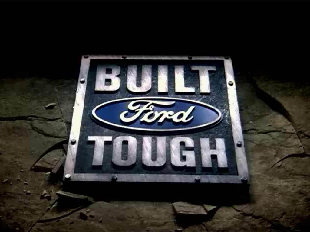 Ford Teases New 'Built Ford Tough' Shield Logo: Video