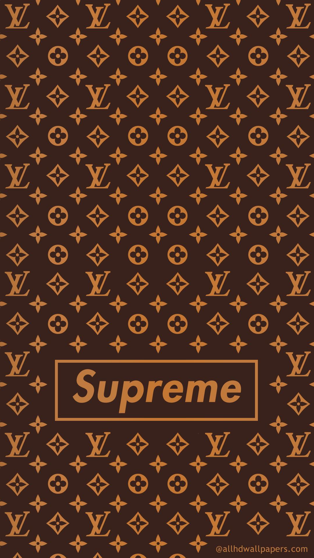 LV pattern Mobile Wallpaper Supreme wallpaper Supreme iphone 1080x1920
