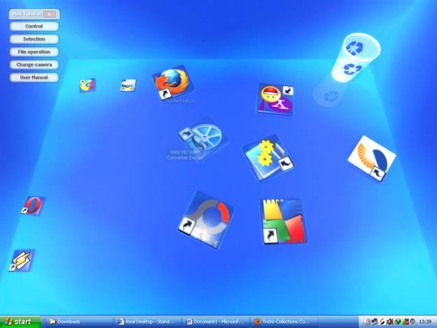 Windows xp 3d desktop download.