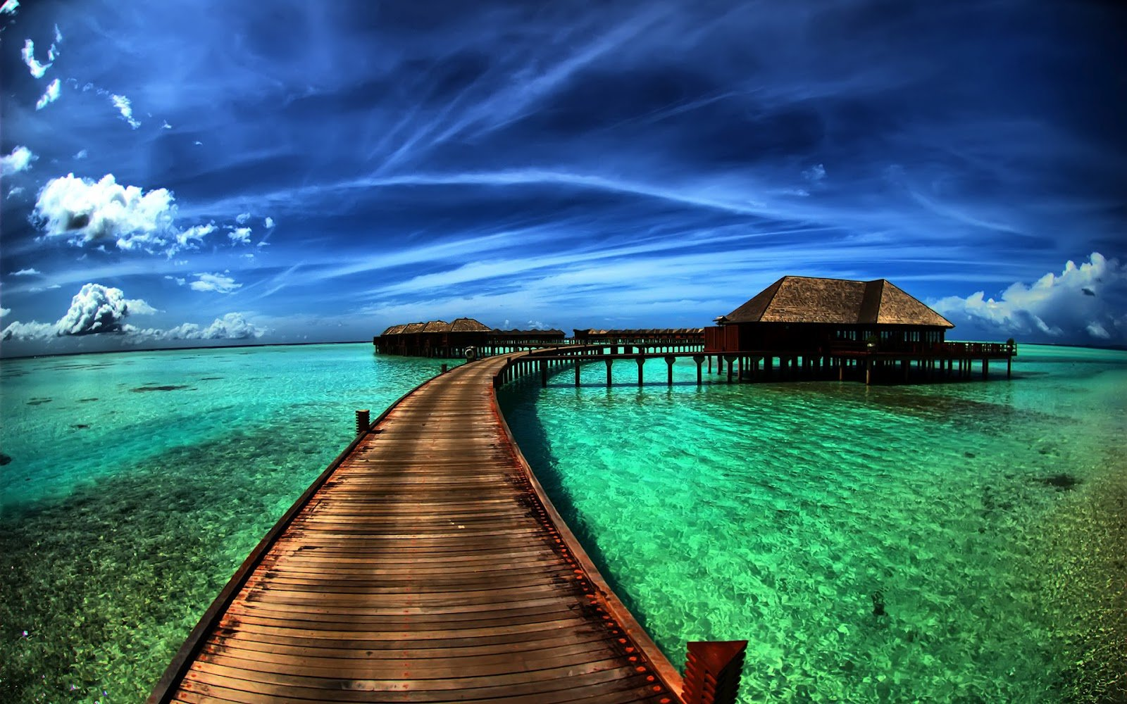 wallpaper proslut Flyover Beach Nature HD Widescreen Wallpapers for 1600x1000