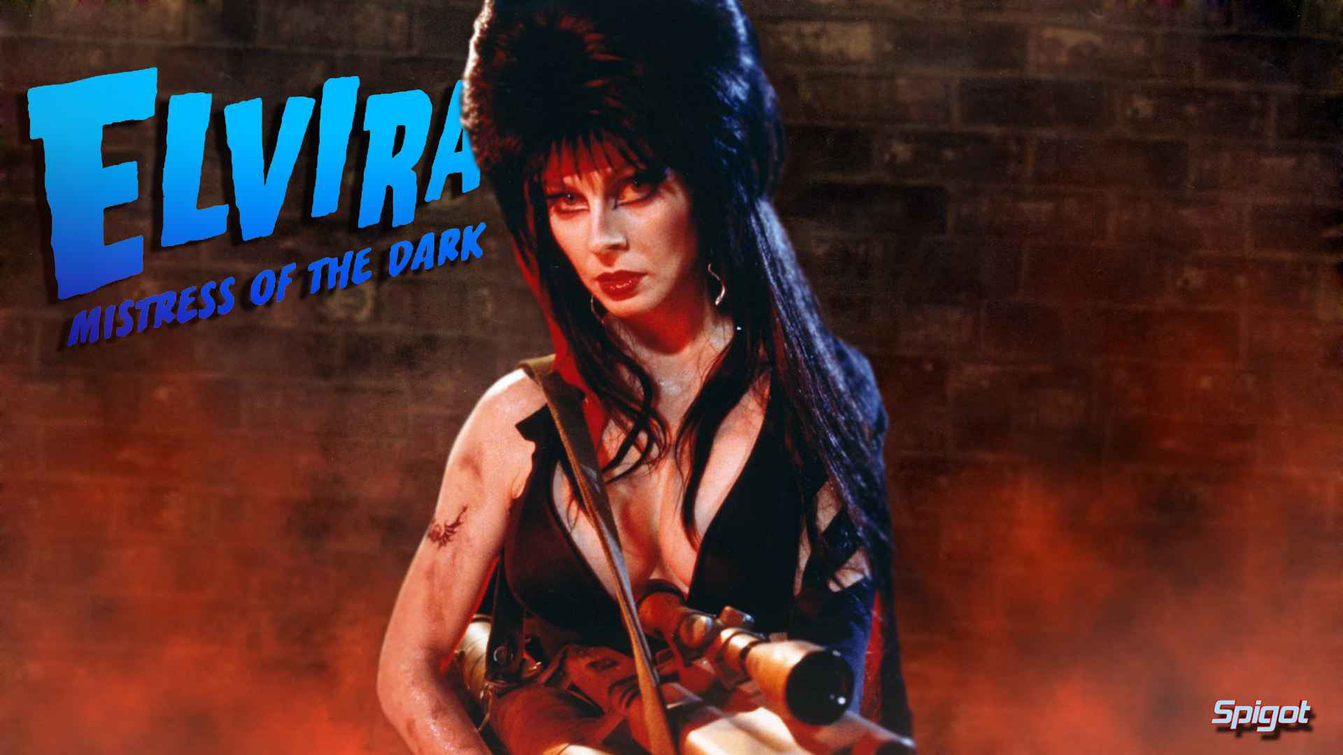Elvira Mistress Of The Dark Wallpaper   Viewing Gallery 1920x1080