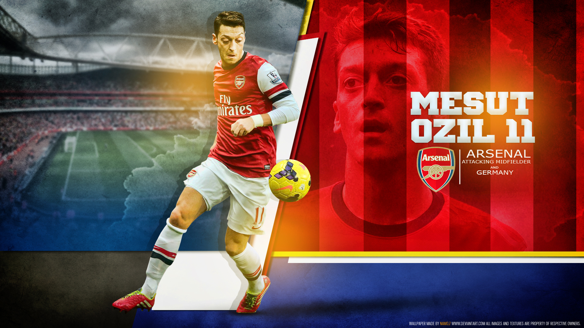 Mesut Ozil Arsenal 2015 newhairstylesformen2014com 1920x1080