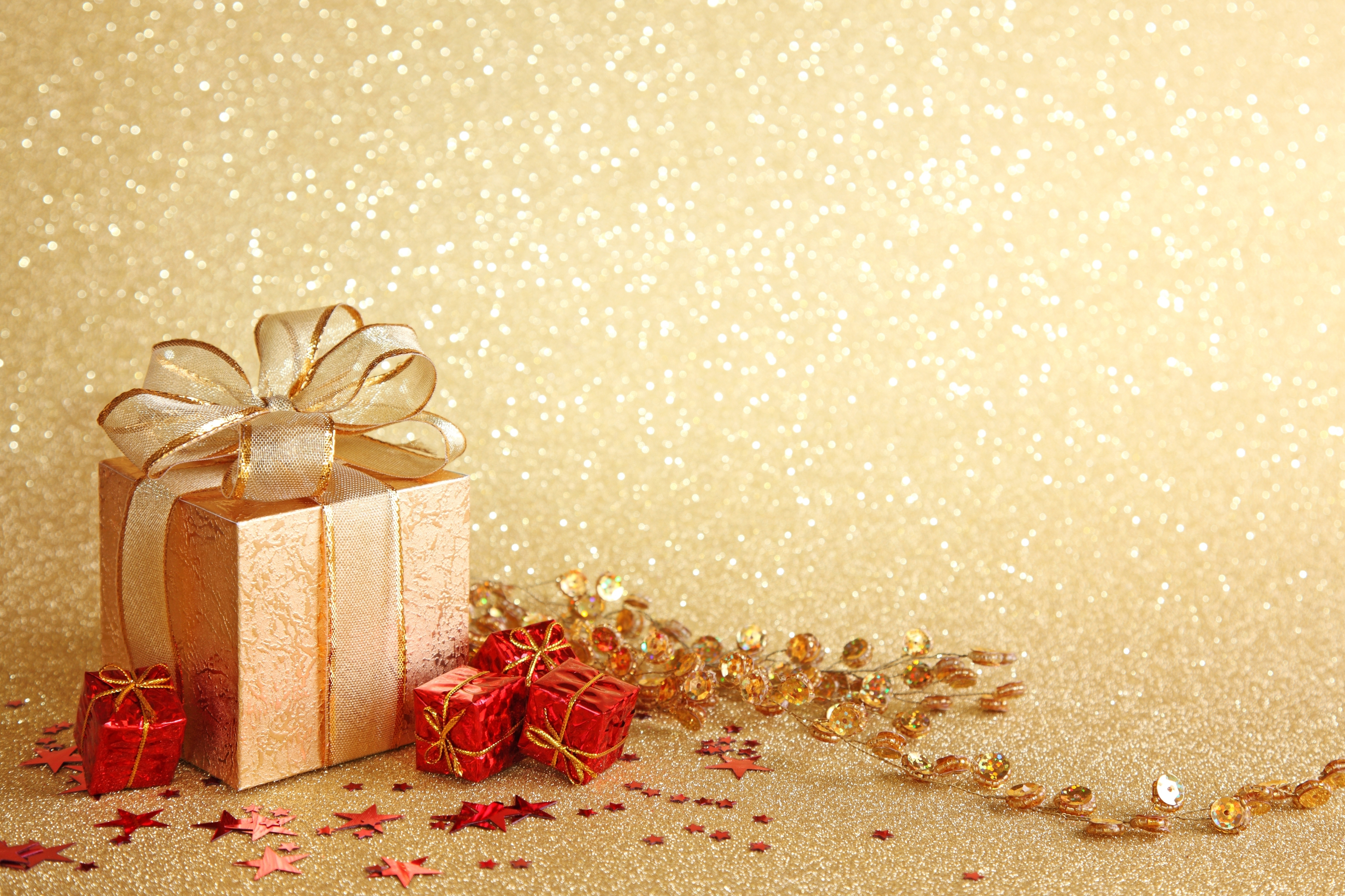 Christmas Present Wallpaper 4500x3000