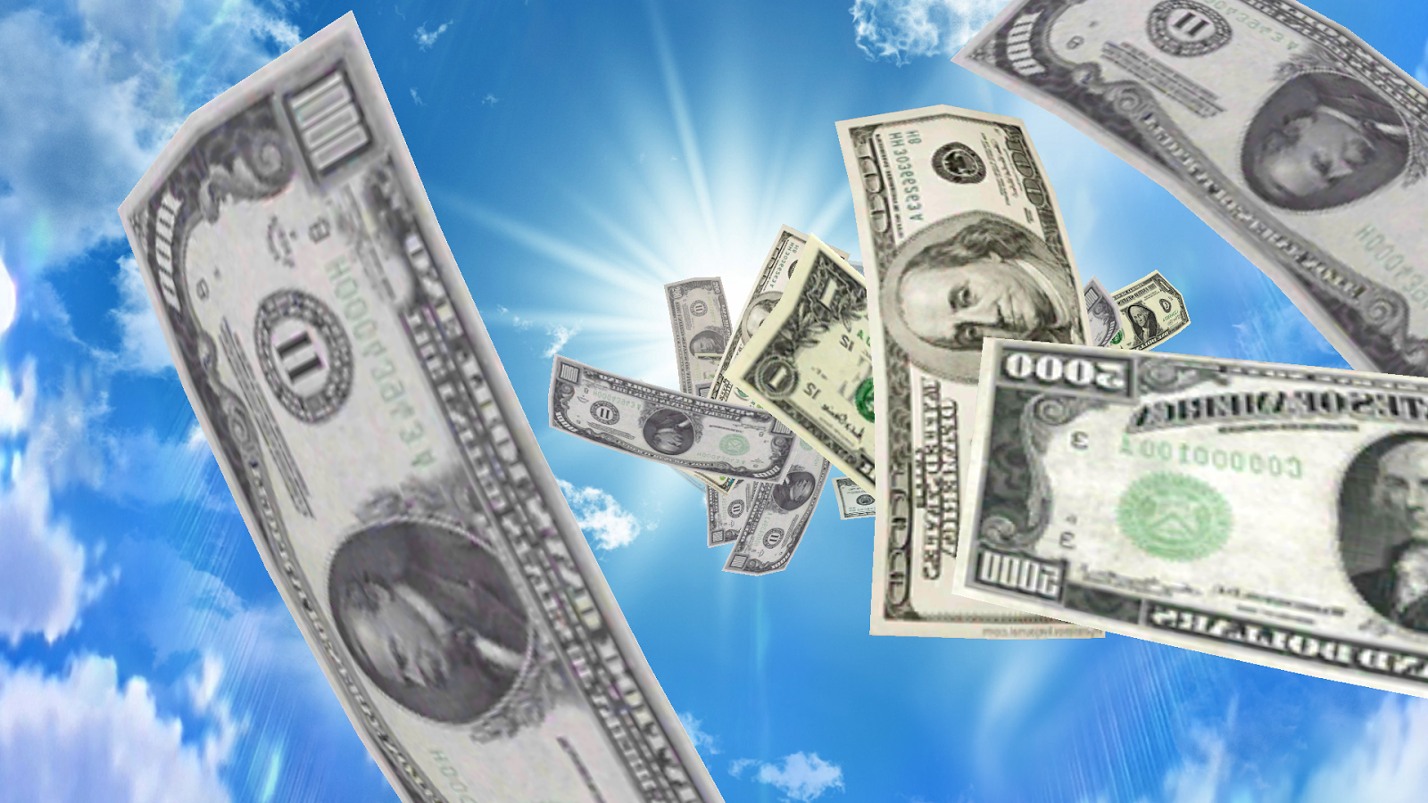 Falling Money 3D Wallpaper   Android Apps on Google Play 1600x900